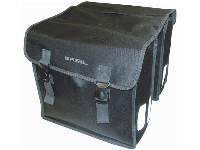 Basil Mara XL Luggage Carrier Double Bag L, black